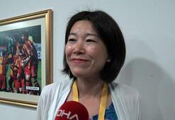 Derbide İstiklal Marşını okuyan Japon Gazeteci: Çocuklarımın okulunda öğrendim
