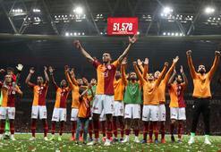 Galatasarayı iç saha performansı zirveye taşıdı