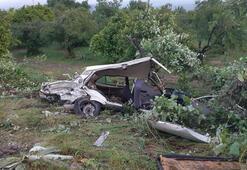 Denizlide ağır ceza mahkemesi başkanı kazada yaralandı
