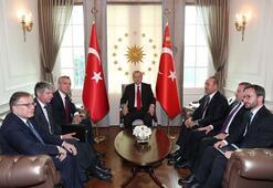 Cumhurbaşkanı Erdoğan, Stoltenbergi kabul etti