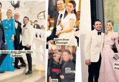 Sarayda görkemli düğün