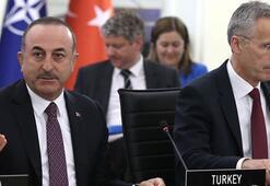 Çavuşoğlundan NATO toplantısında Kıbrıs mesajı