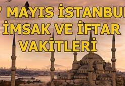 İstanbul imsak vakti ne zaman 7 Mayıs İstanbul sahur ve iftar vakitleri