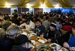 ABDde ilk iftar sevinci