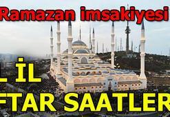 7 Mayıs Salı iftar vakti Bugün iftar saat kaçta İl il iftar vakitleri