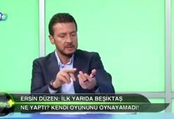 Ersin Düzenden Caner Erkine sert sözler Futbolcuysan futbolculuğunu bil...