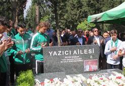 Bursasporun şampiyon başkanı İbrahim Yazıcı anıldı