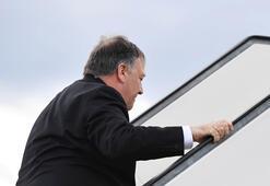 Pompeo, Merkel randevusunu son dakikada iptal etti