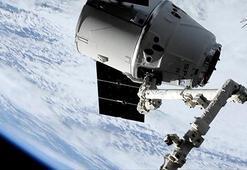 SpaceX kargo mekiği UUİye ulaştı