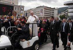 Papa Kuzey Makedonyayı ziyaret ediyor