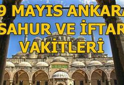 Ankarada sahur saat kaçta | 9 Mayıs Ankara sahur ve iftar vakitleri