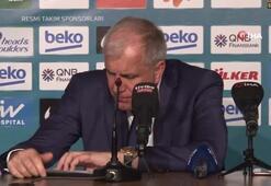 Zeljko Obradovic: Çok iyi oynadığımıza inanıyorum