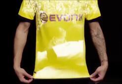 Borussia Dortmund yeni formasını böyle tanıttı