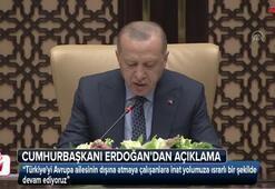 Cumhurbaşkanı Erdoğandan açıklama