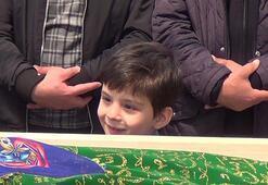 Aras cenaze töreninde herkesi ağlattı
