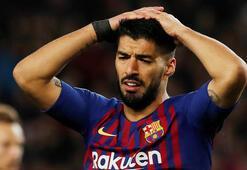 Luis Suarez 4-6 hafta yok