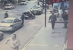 Esenyurt'ta sokak ortasında silahlı kovalamaca