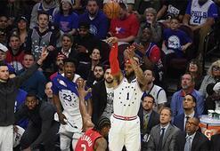 Philadelphia ve Portland, serileri 3-3e getirdi