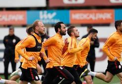 Galatasarayda Rizespor öncesi 2 eksik