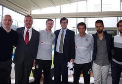 İspanyol büyükelçiden Beşiktaşa ziyaret