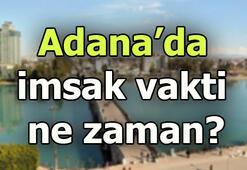 Adanada sahur saat kaçta Adana imsak saati