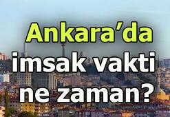 Ankarada sahur saat kaçta Ankara imsak saati