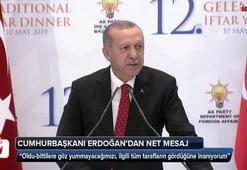 Cumhurbaşkanı Erdoğandan Avrupaya net mesaj