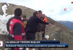 Uçurumdan yuvarlanan kayıp gazetecinin arama çalışmaları