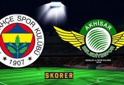 Fenerbahçe  - Akhisarspor: 2-1