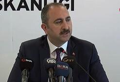 Adalet Bakanı Gül: YSK üyelerini hedef göstermek ahlaki sorumsuzluk örneği