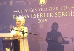 Emine Erdoğan, Çamlıca Camisinde sergi açılışı yaptı