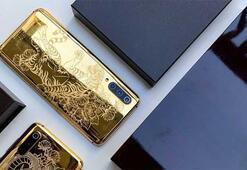 Xiaomiden 24 ayar altın kaplama Mi 9