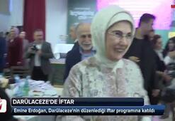Emine Erdoğan, Darülaceze sakinleriyle iftarda buluştu