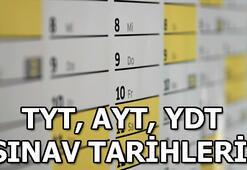 YKS ne zaman 2019 üniversite sınavı tarihi TYT, AYT, YDT sınav tarihleri