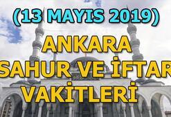 Ankarada sahur saat kaçta  | 13 Mayıs Ankara sahur ve iftar vakitleri