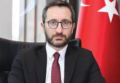Cumhurbaşkanlığı İletişim Başkanı Prof. Dr. Fahrettin Altundan gazeteciye tepki