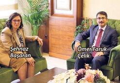 MASKİ yönetiminden Başkan Çelik'e ziyaret