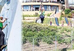Başkan Soyer maceraya atıldı