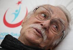 Evinde fenalaşan Eşref Kolçak hastaneye kaldırıldı