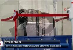 İlk yerli helikopter motoru Savunma Sanayiine teslim edildi