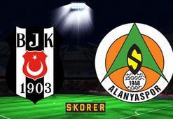 Beşiktaş - Alanyaspor: 2-1