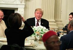 Donald Trump, Beyaz Sarayda iftar verdi