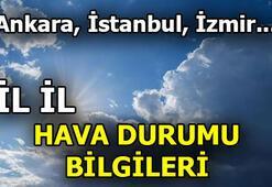 5 Günlük hava durumu tahminleri | Ankara, İstanbul, İzmir ve diğer iller