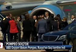 ABD Dışişleri Bakanı Pompeo Soçide