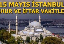 İstanbul sahur saat kaçta 15 Mayıs Çarşamba İstanbul sahur ve iftar vakitleri