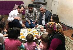 Bakan Albayraktan Kılıç ailesine iftar ziyareti