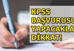 KPSS başvuruları sona eriyor KPSS başvuru ücreti ne kadar