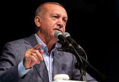 Cumhurbaşkanı Erdoğan'dan İstanbul tespiti: Birkaç gündür rüzgâr döndü