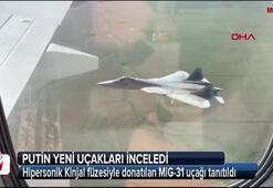 Hipersonik Kinjal füzesiyle donatılan MiG-31 uçağı tanıtıldı