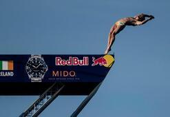 Red Bull Cliff Diving'de tarih yazıldı
